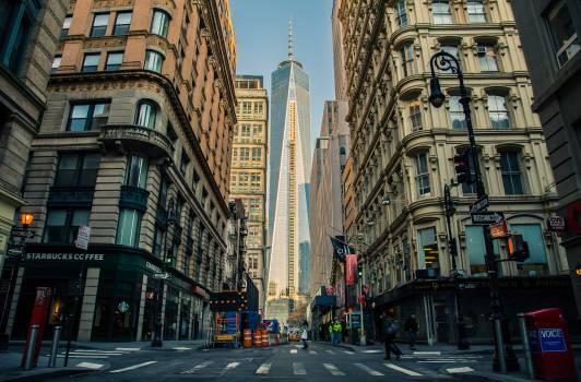 City road street buildings #31925