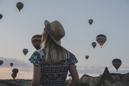 Hat Balloon Aircraft Free Photo
