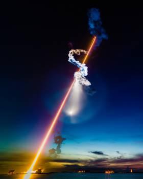 Sky Device Laser Free Photo