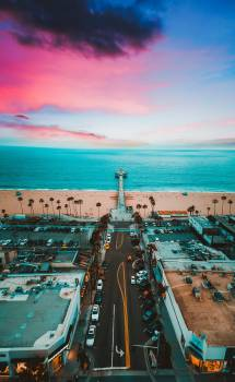 Beach City Sea Free Photo