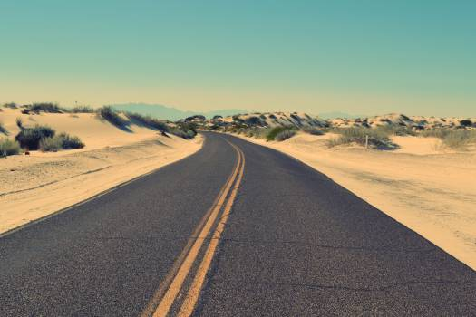 Road sky sand street #32018