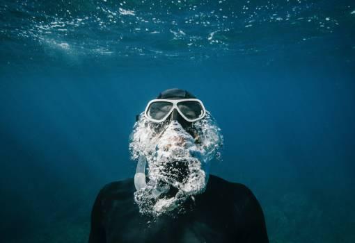 Goggles Sea Water Free Photo