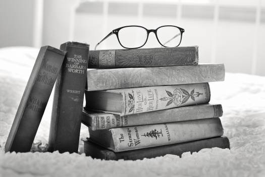 Books stack old antique Free Photo