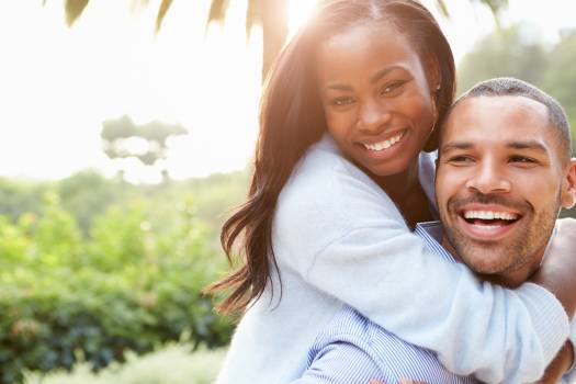Man woman couple portrait #32323