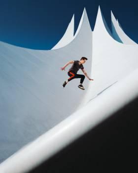 Sport Mountain Parachute Free Photo