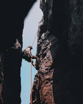 Mountain Rock Crampon Free Photo
