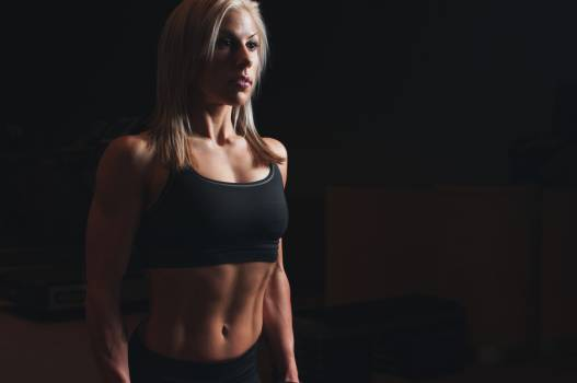 Woman girl blonde fitness #32555