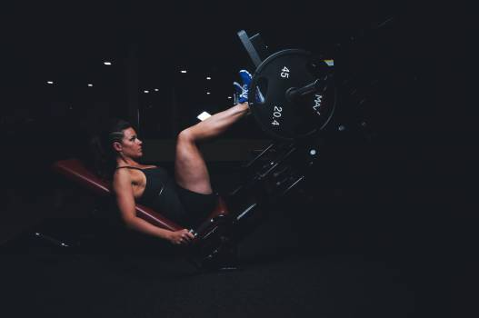 Healthy woman legs dark #32661