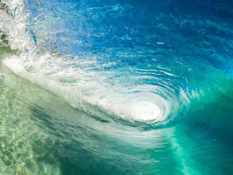 Photography of Ocean Whirlpool #32672
