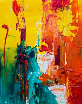 Abstract abstract painting acrylic acrylic paint Free Photo