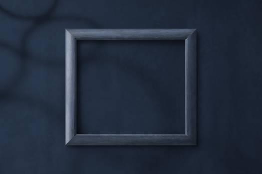 Rectangular Gray Photo Frame Free Photo