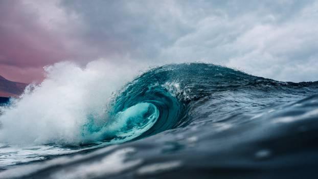 Ocean Water Wave Photo Free Photo