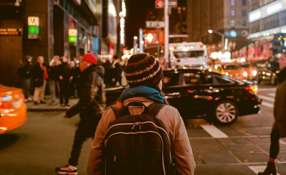 Woman girl street city #32727
