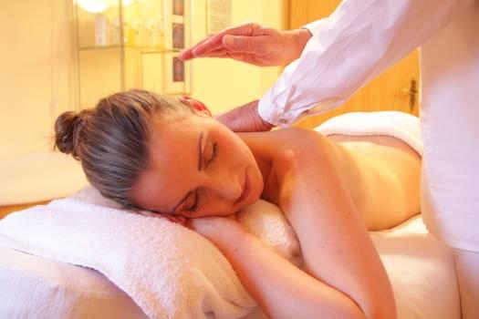 Woman Having a Massage Free Photo