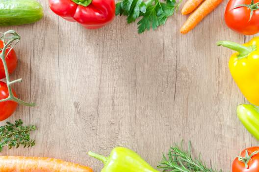 Assorted Vegetables on Brown Surface Free Photo