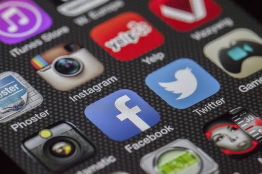 Facebook Application Icon Free Photo