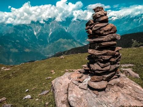 Photo of Rocks Piled on Top of Each Other #328194