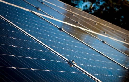 Blue Solar Panels #328364