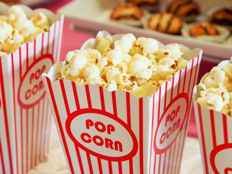 Food snack popcorn movie theater #32836