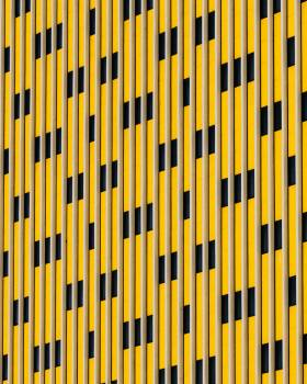 Yellow and Black Striped Pattern #328962