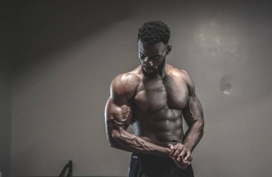 Photo of Man With Muscular Body Free Photo