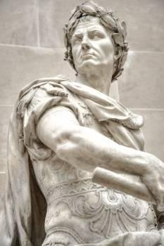 Julius Caesar Marble Statue Free Photo