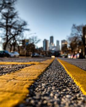 Close-up Photography of Road Free Photo