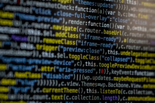 Close-Up Photography of Program Codes Free Photo