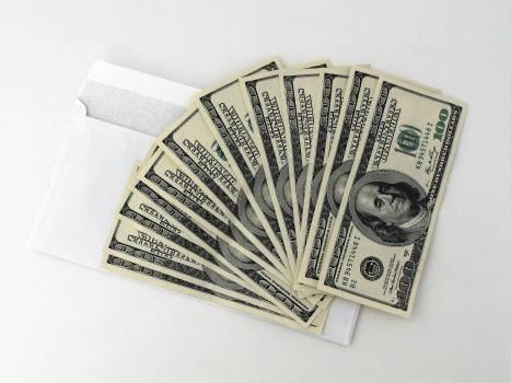 100 U.s. Dollar Banknotes Free Photo