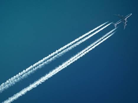 White Airplane Free Photo