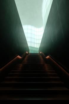 Brown Concrete Staircase #330625
