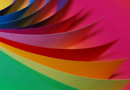 Close Up Photography of Different Type of Colors of Paper #33145