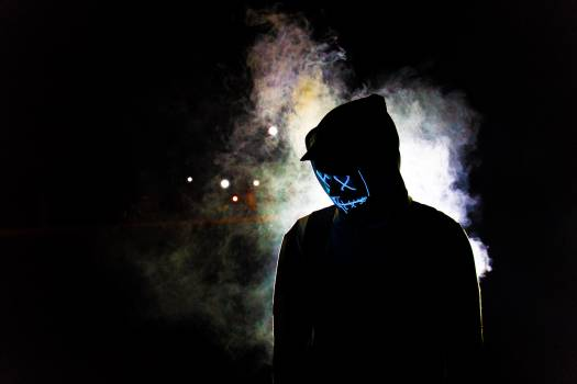 Person in a Mask Free Photo