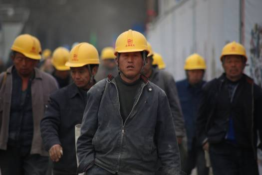 Group of Persons Wearing Yellow Safety Helmet during Daytime #332522