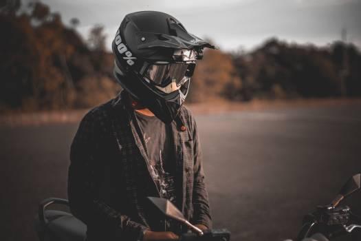Person Wearing Helmet Free Photo