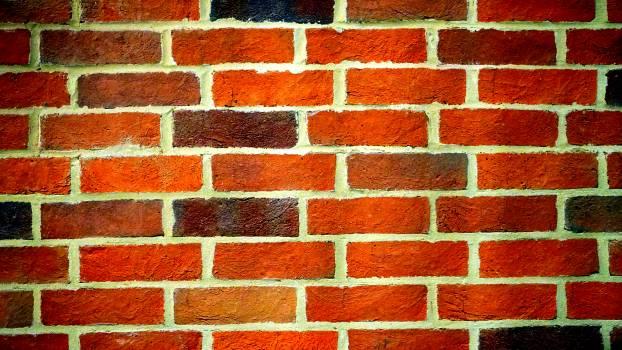 Landscape Photography of Orange Brick Wall #33271