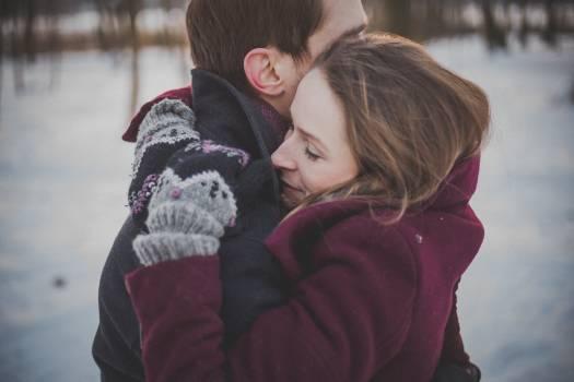Couple love together hug #33286