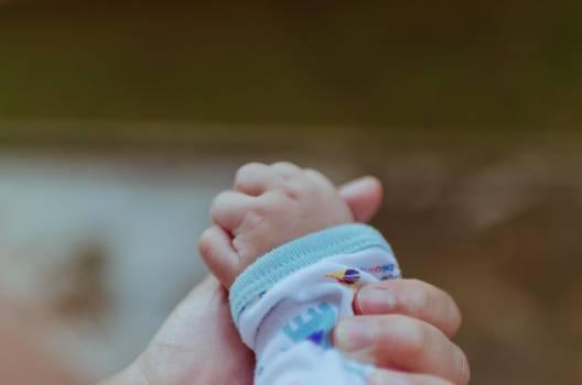 Hand palm baby child #33342