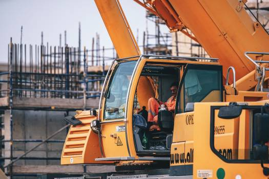 Person Operating Heavy Equipment #333452