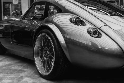 Grayscale Photography of Tvr Tuscani #33373