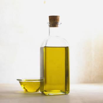 Clear Oil Glass Bottle #334105