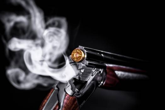 Photo of Smoking Shotgun Free Photo