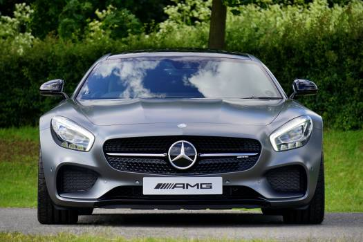 Gray Mercedez Benz Amg #33465