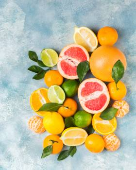Cut Oranges #334742