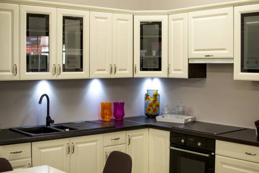 White Kitchen Cabinet #33531