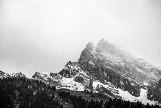 Image of Snowy Mountain #33534