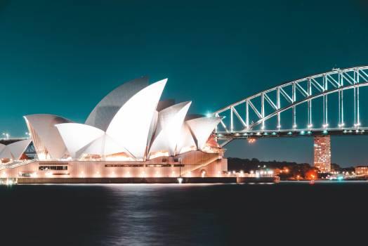 White Sydney Opera House Free Photo