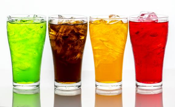 Photo of Four Assorted-color Beverages Free Photo