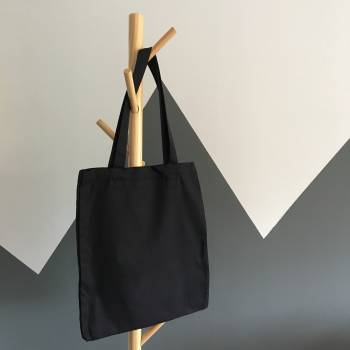 Black Tote Bag Free Photo