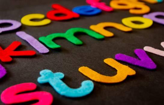Closeup Photo of Assorted-color Alphabets Free Photo